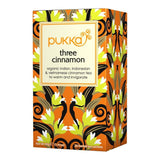 Food - Pukka Organic Three Cinnamon 20 Teabags