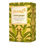 Pukka Organic Three Ginger Herbal Tea 20 Teabags - Lifestyle Labs