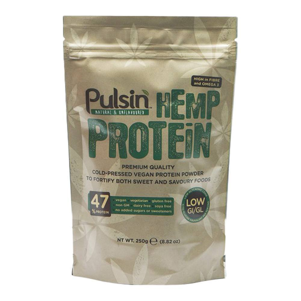 Pulsin Hemp Protein Isolate 250 g Powder - Lifestyle Labs