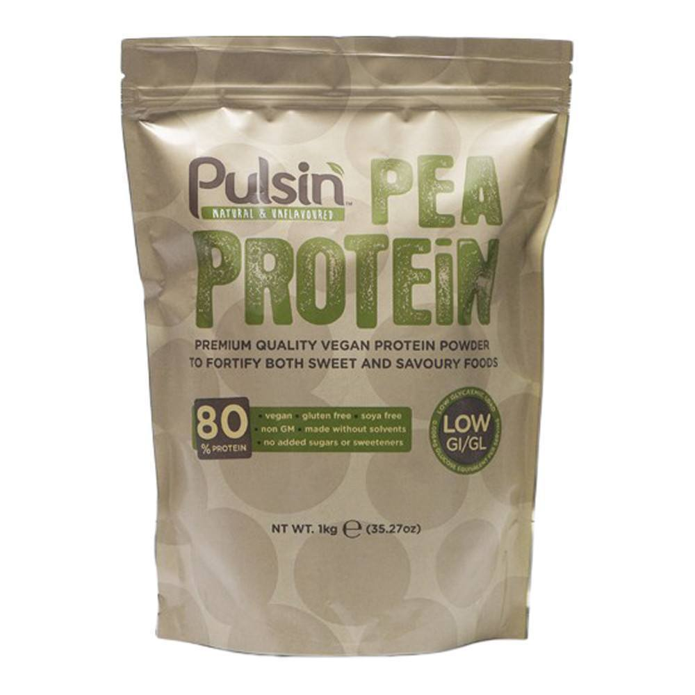 Pulsin Pea Protein Isolate 1 kg Powder - Lifestyle Labs