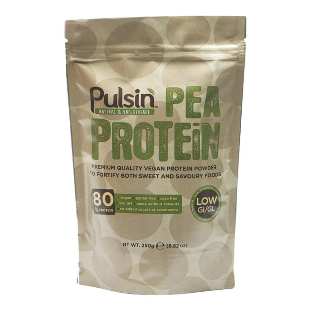 Pulsin Pea Protein Isolate 250 g Powder - Lifestyle Labs