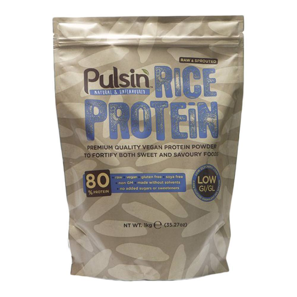 Pulsin Rice Protein 1 kg Powder - Lifestyle Labs