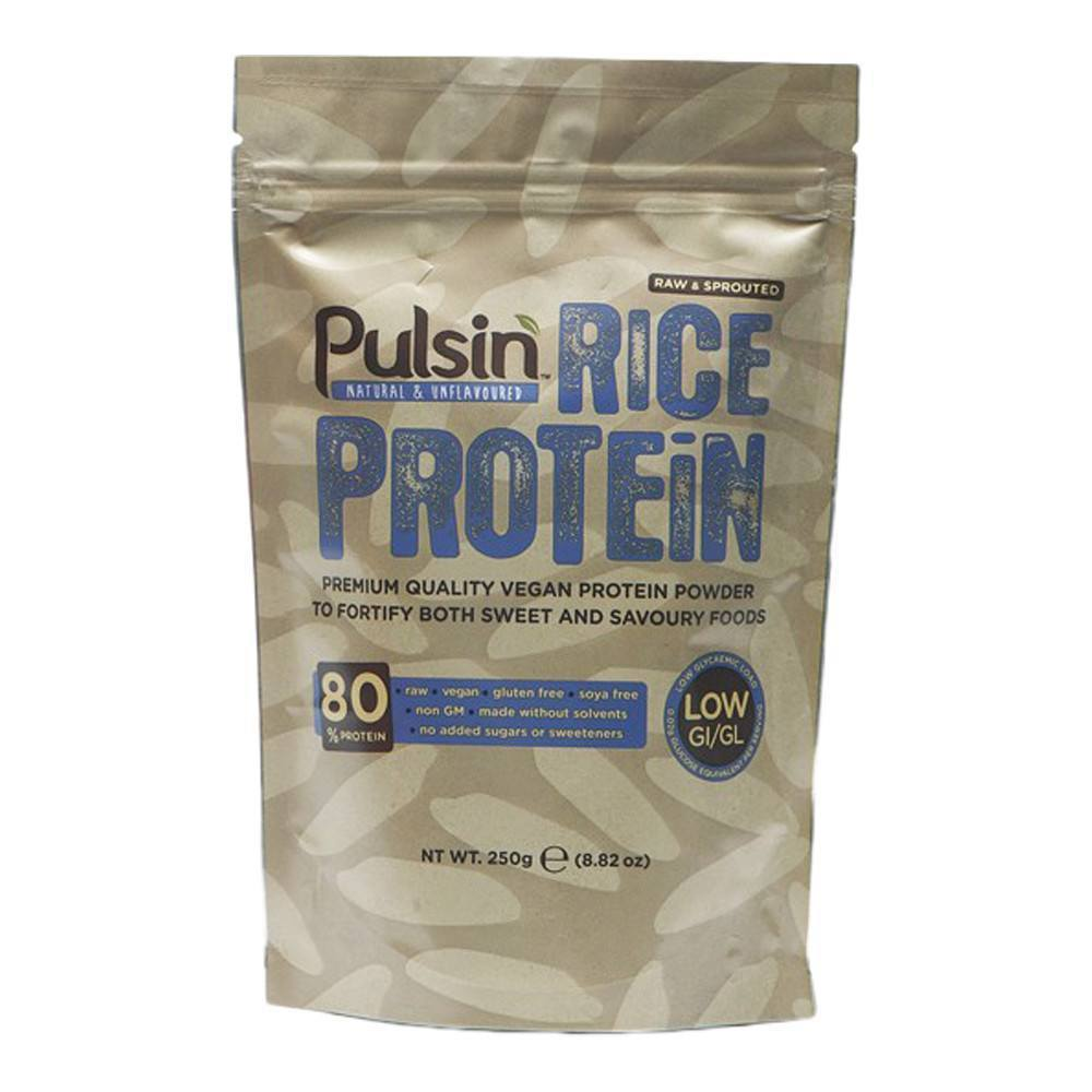 Pulsin Rice Protein 250 g Powder - Lifestyle Labs