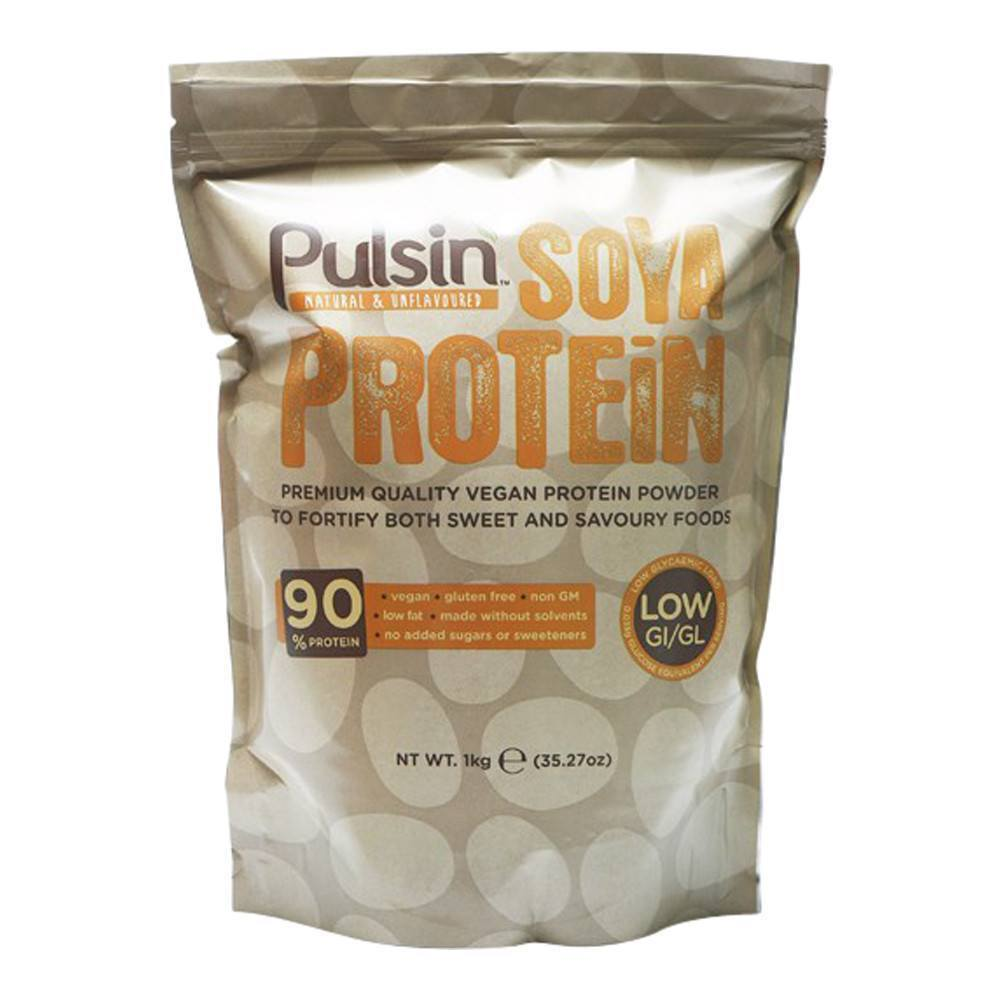 Pulsin Soya Protein Isolate 1 kg Powder - Lifestyle Labs