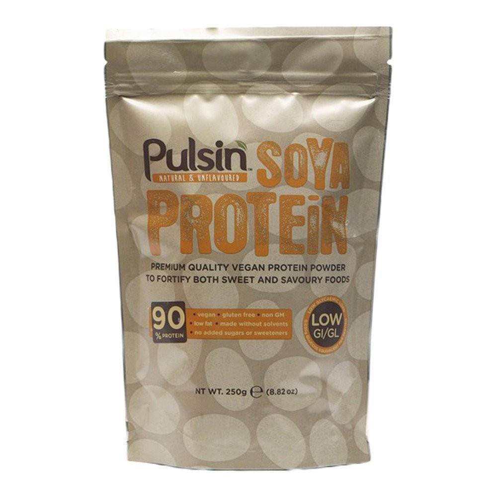 Pulsin Soya Protein Isolate 250 g Powder - Lifestyle Labs