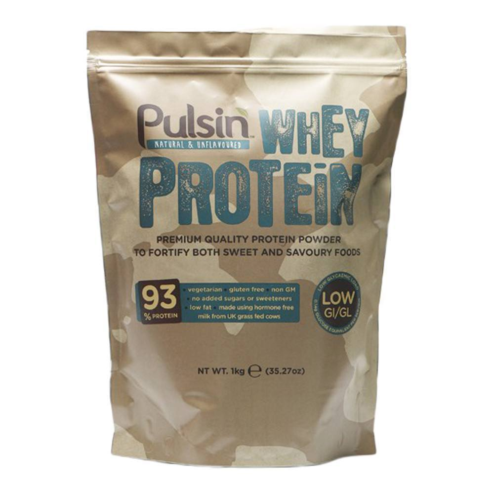 Pulsin Whey Protein Isolate 1 kg Powder - Lifestyle Labs