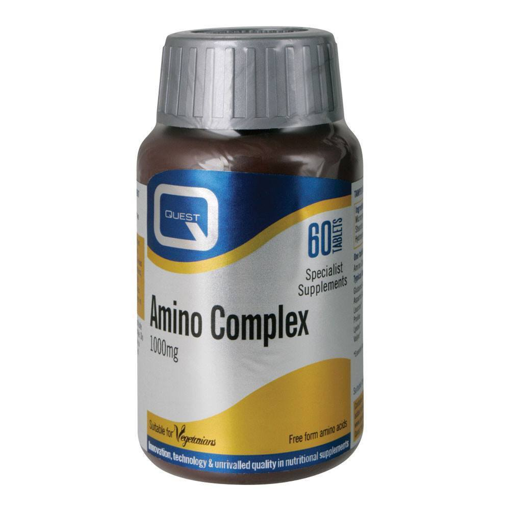 VMS - Quest Amino Complex 1000 Mg 60 Tablets