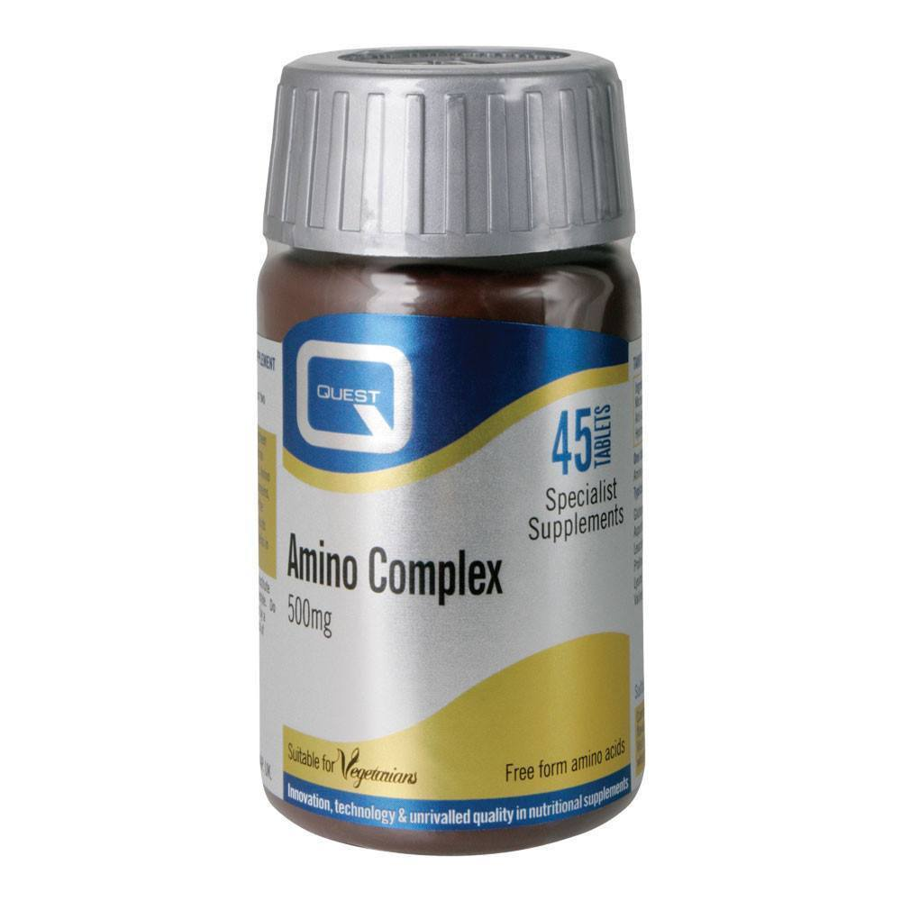 Quest Amino Complex 500 mg 45 Tablets - Lifestyle Labs