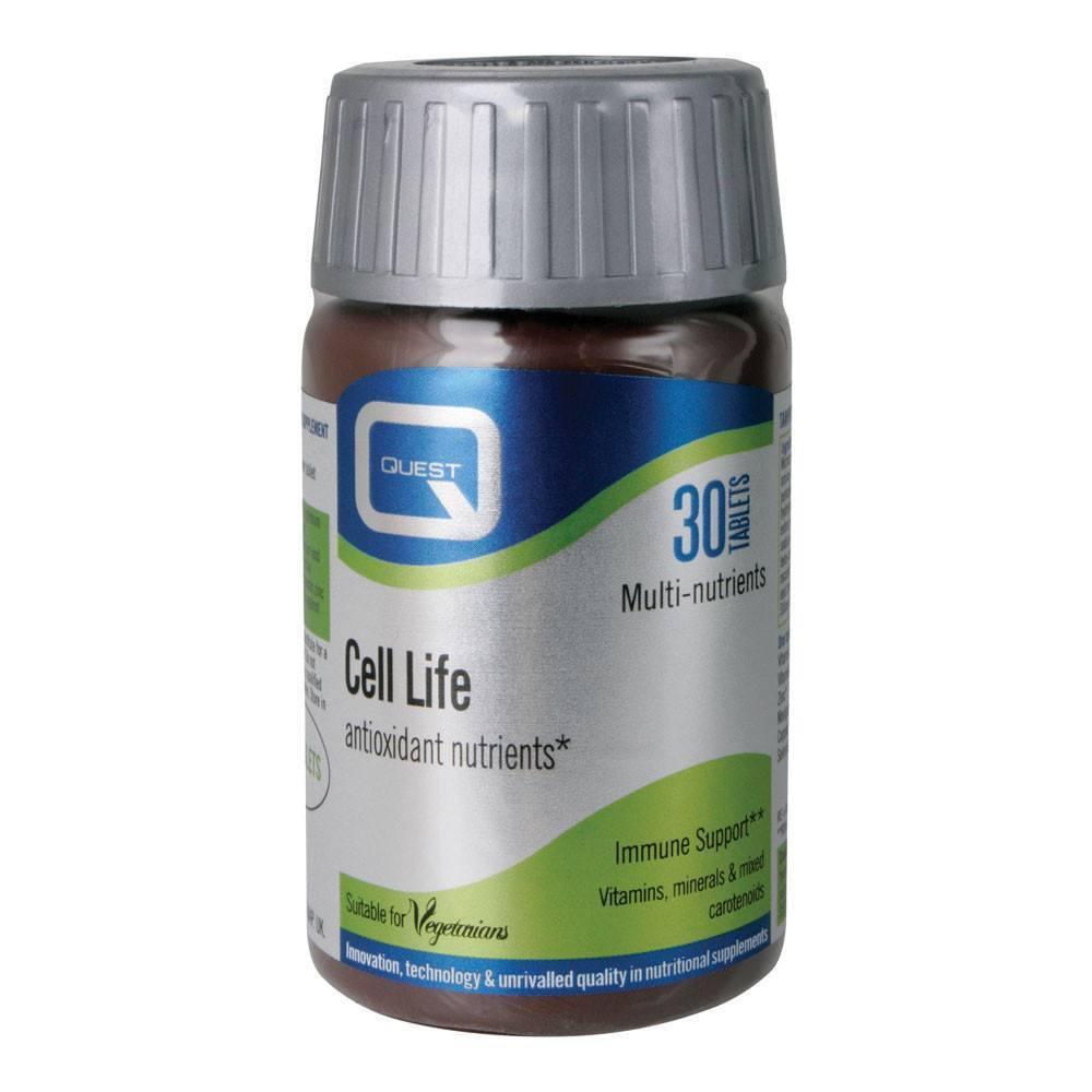 Quest Cell Life Immune Support 30 Tablets - Lifestyle Labs