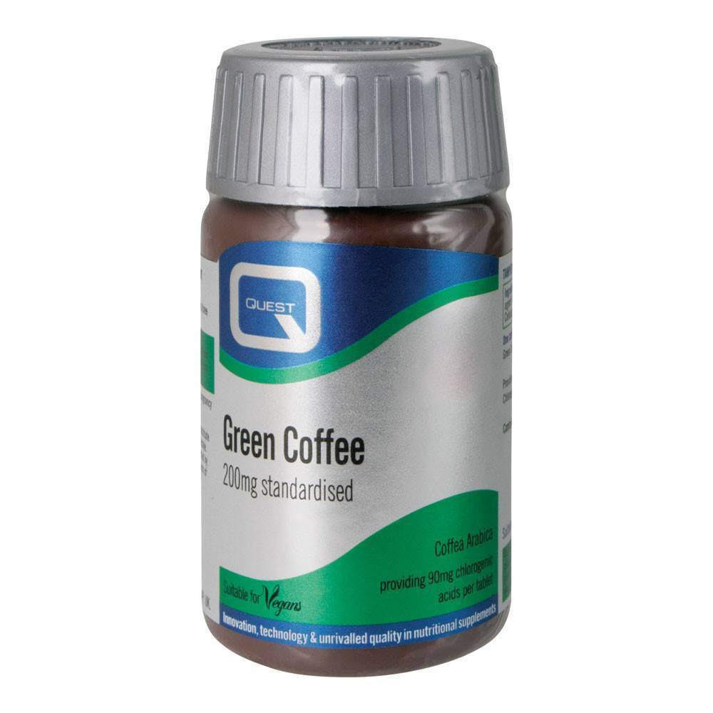VMS - Quest Green Coffee 200 Mg 90 Tablets