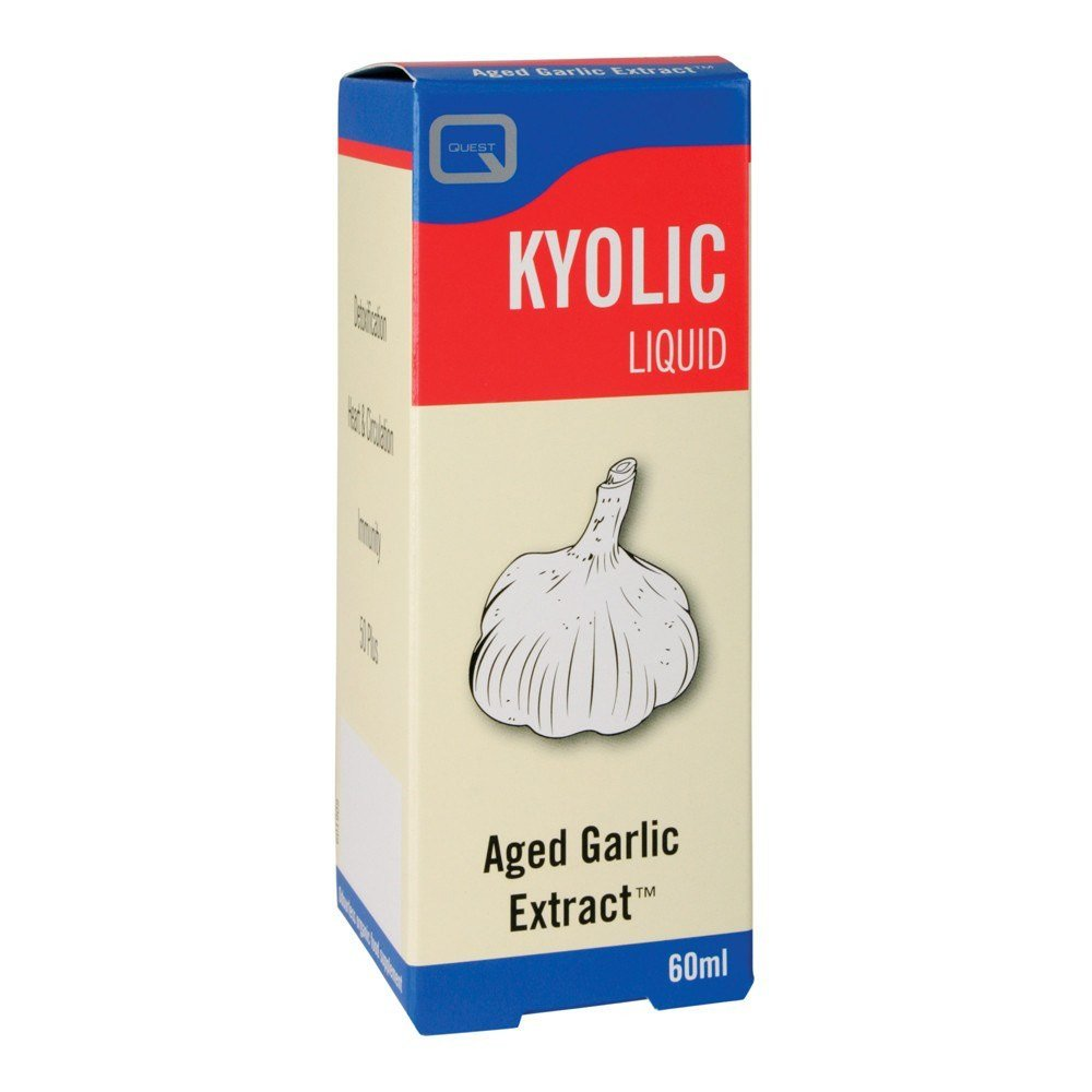 VMS - Quest Kyolic Garlic 60ml Liquid
