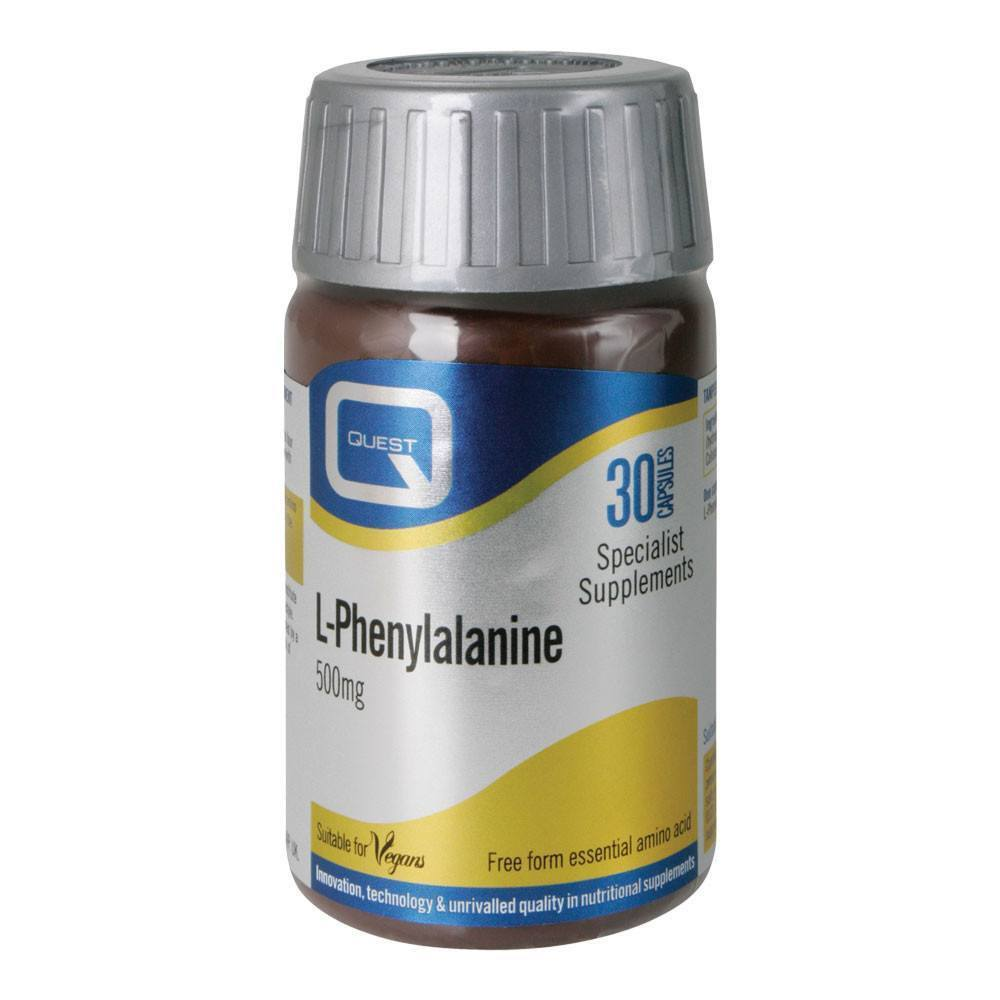 VMS - Quest L Phenylalanine 500 Mg 30 Capsules