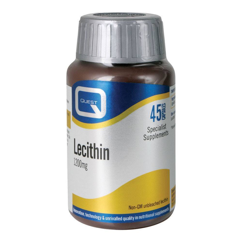 VMS - Quest Lecithin 1200 Mg 45 Capsules