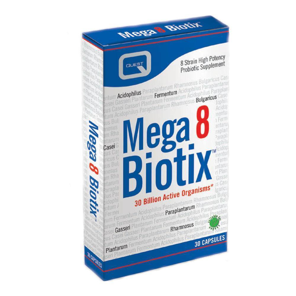 VMS - Quest Mega8Biotix 30 Billion 30 Capsules