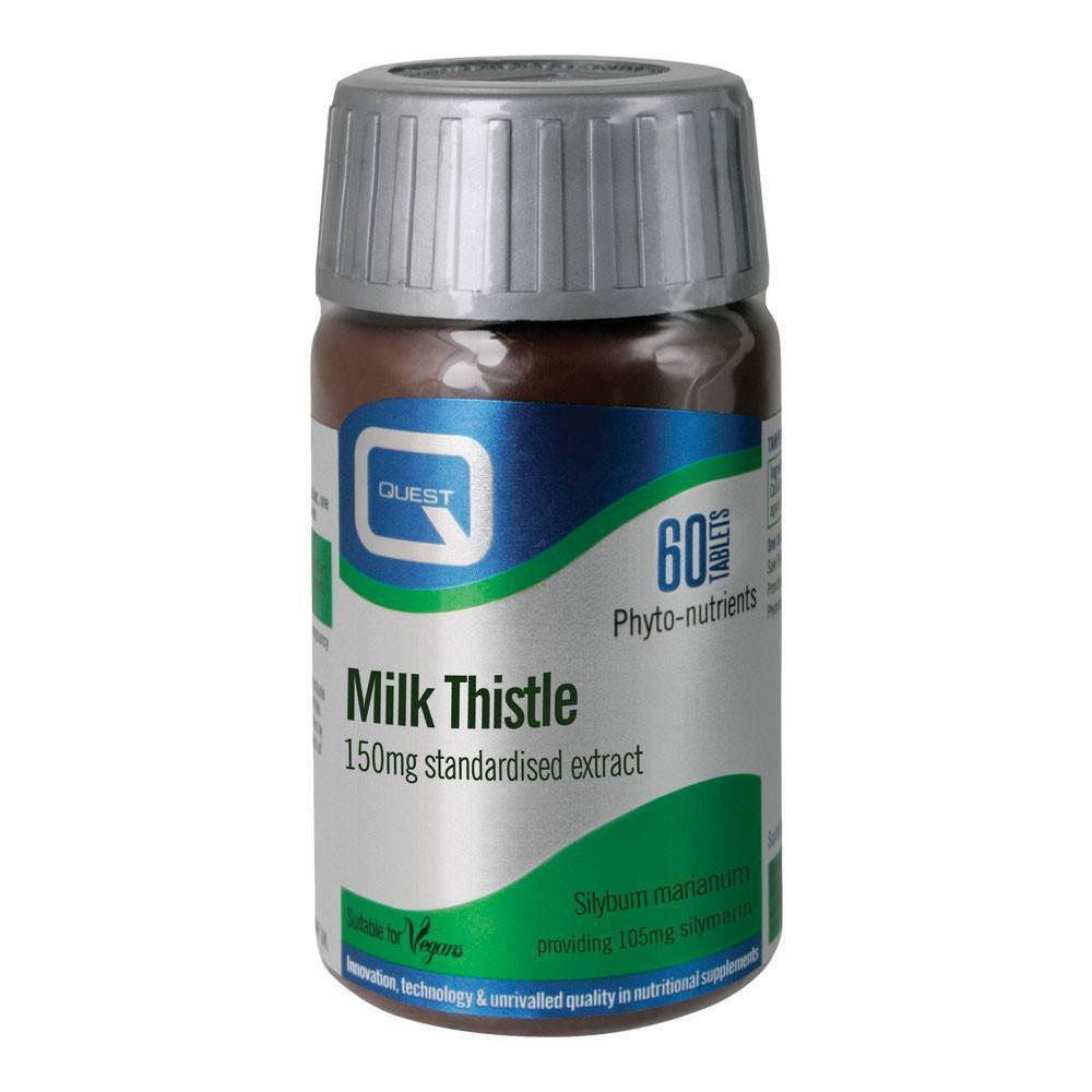 VMS - Quest Milk Thistle 150 Mg 60 Tablets