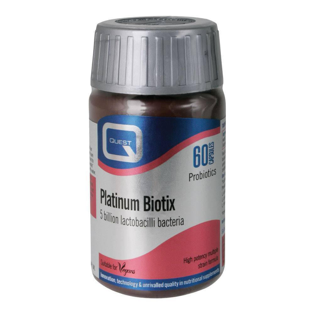 VMS - Quest Platinum Biotix 5 Billion 60 Capsules