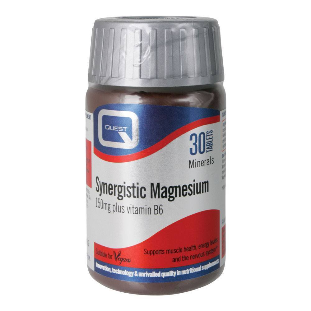 VMS - Quest Synergistic Magnesium 150 Mg 30 Tablets