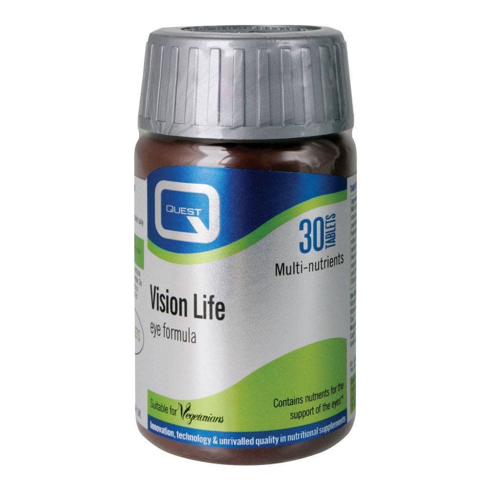 VMS - Quest Vision Life Eye Health 30 Tablets
