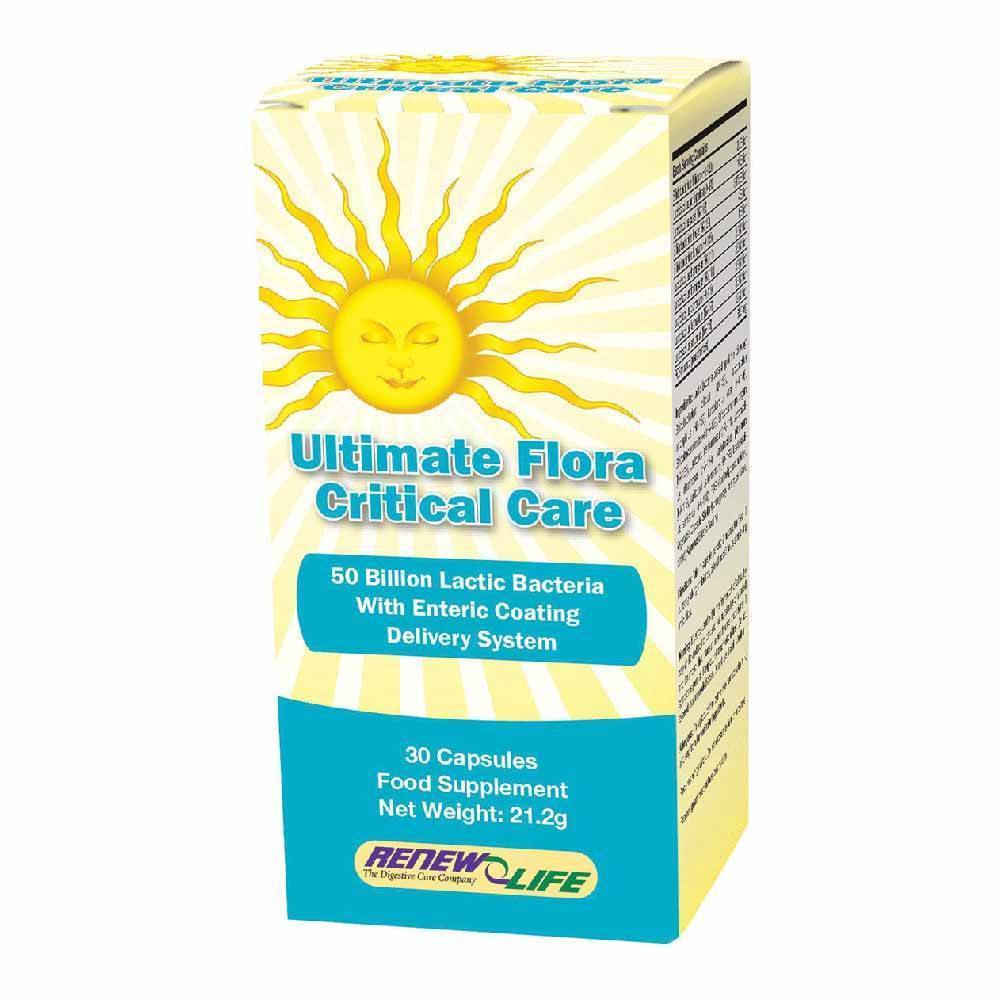 VMS - Renew Life Ultimate Flora Critical Care 50 Billion 30 Capsules