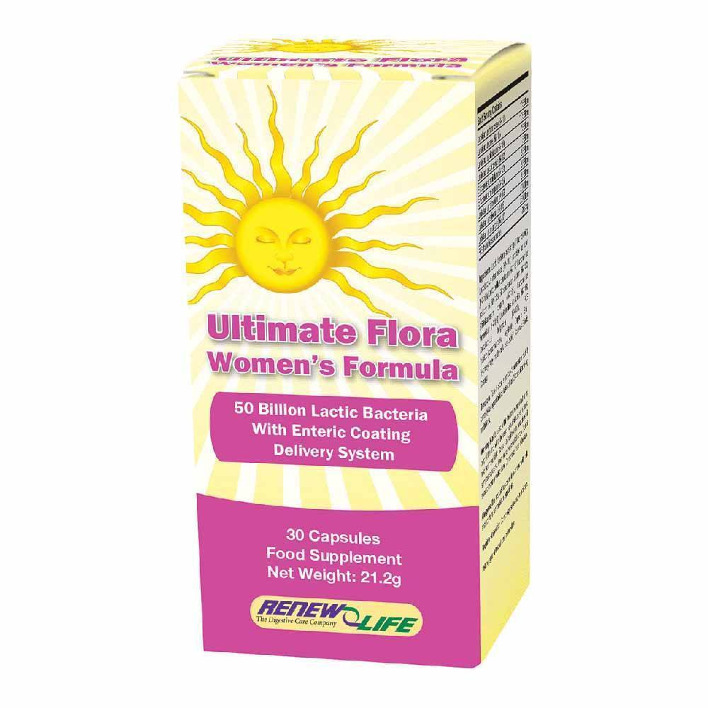 VMS - Renew Life Ultimate Flora Womens Formula 50 Billion 30 Capsules