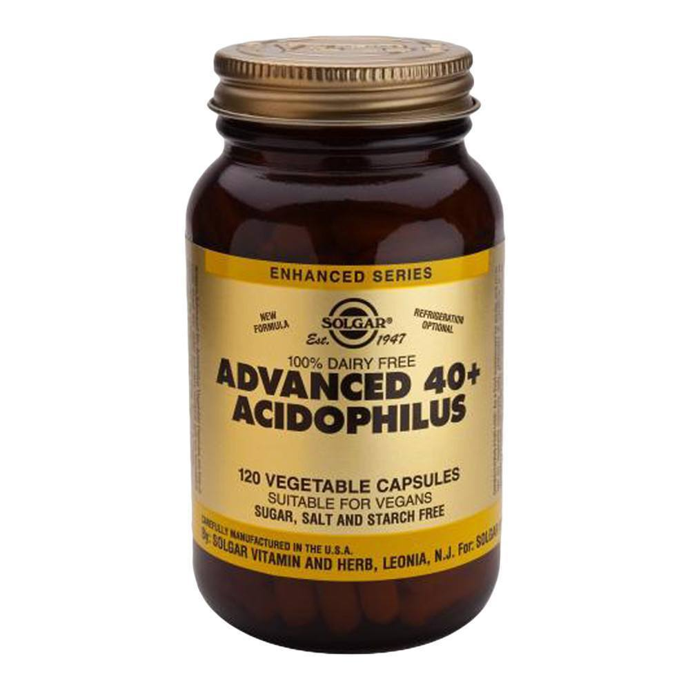 VMS - Solgar Advanced 40+ Acidophilus 1.5 Billion 120 Capsules