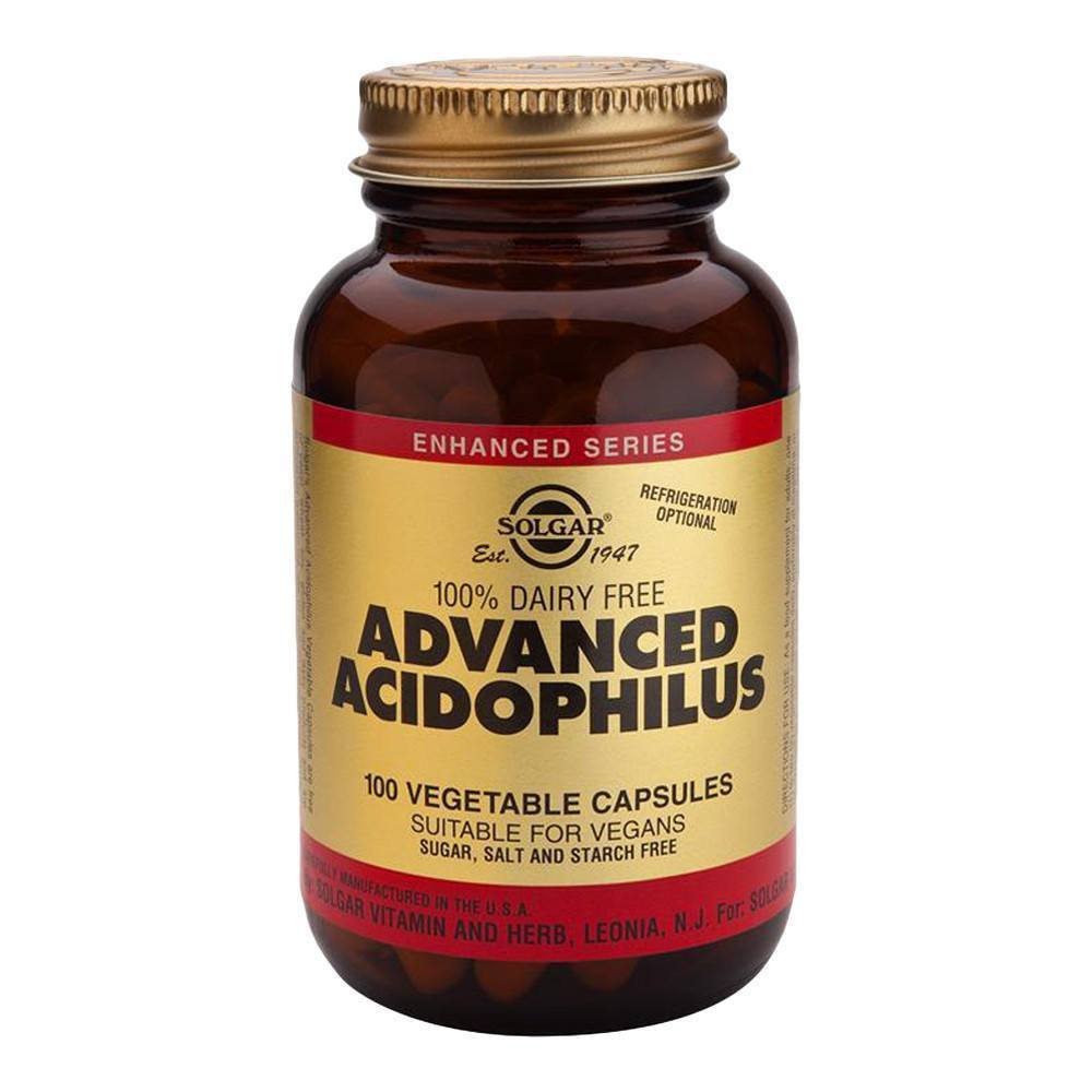 VMS - Solgar Advanced Acidophilus 500 Million 100 Capsules