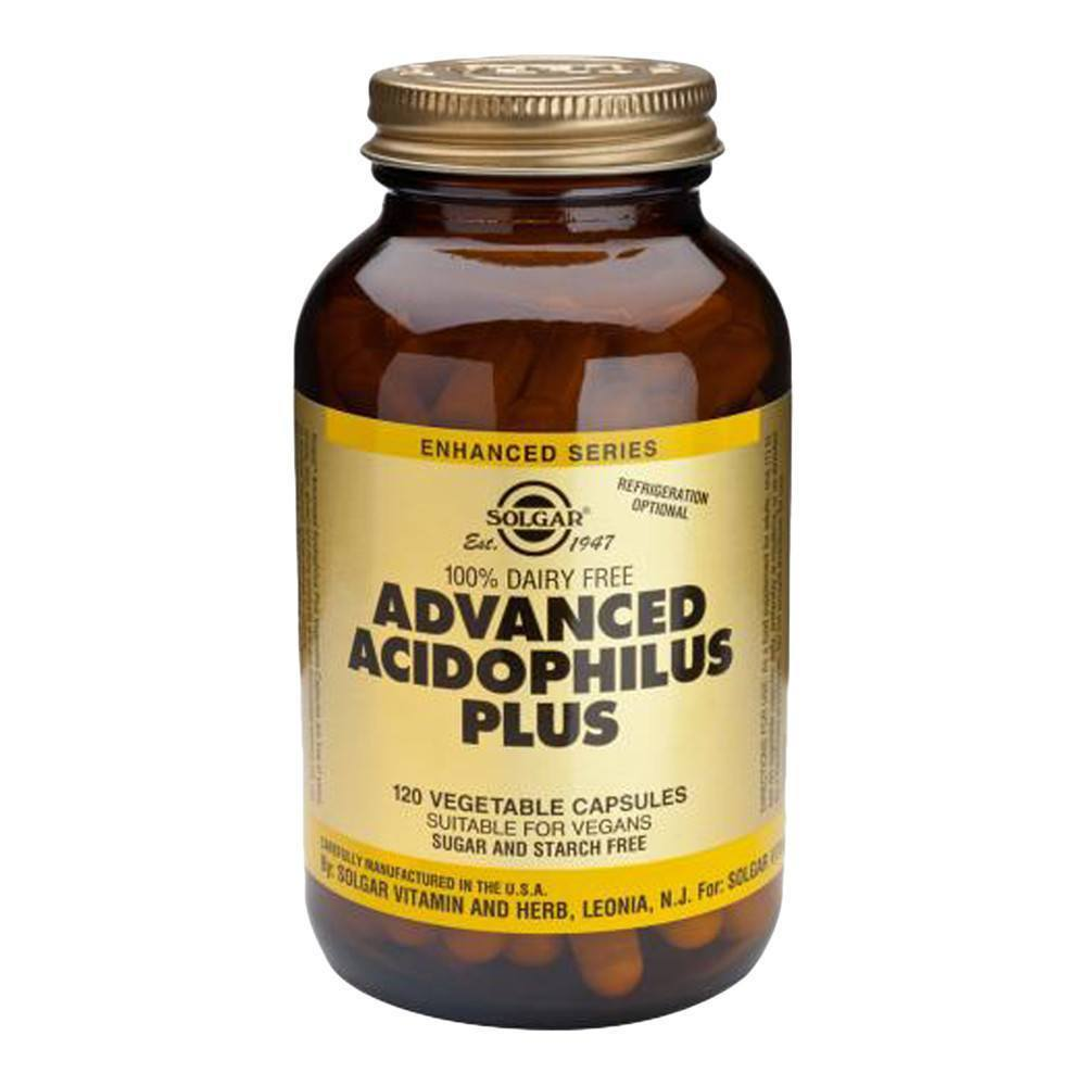 VMS - Solgar Advanced Acidophilus Plus 500 Million 120 Capsules