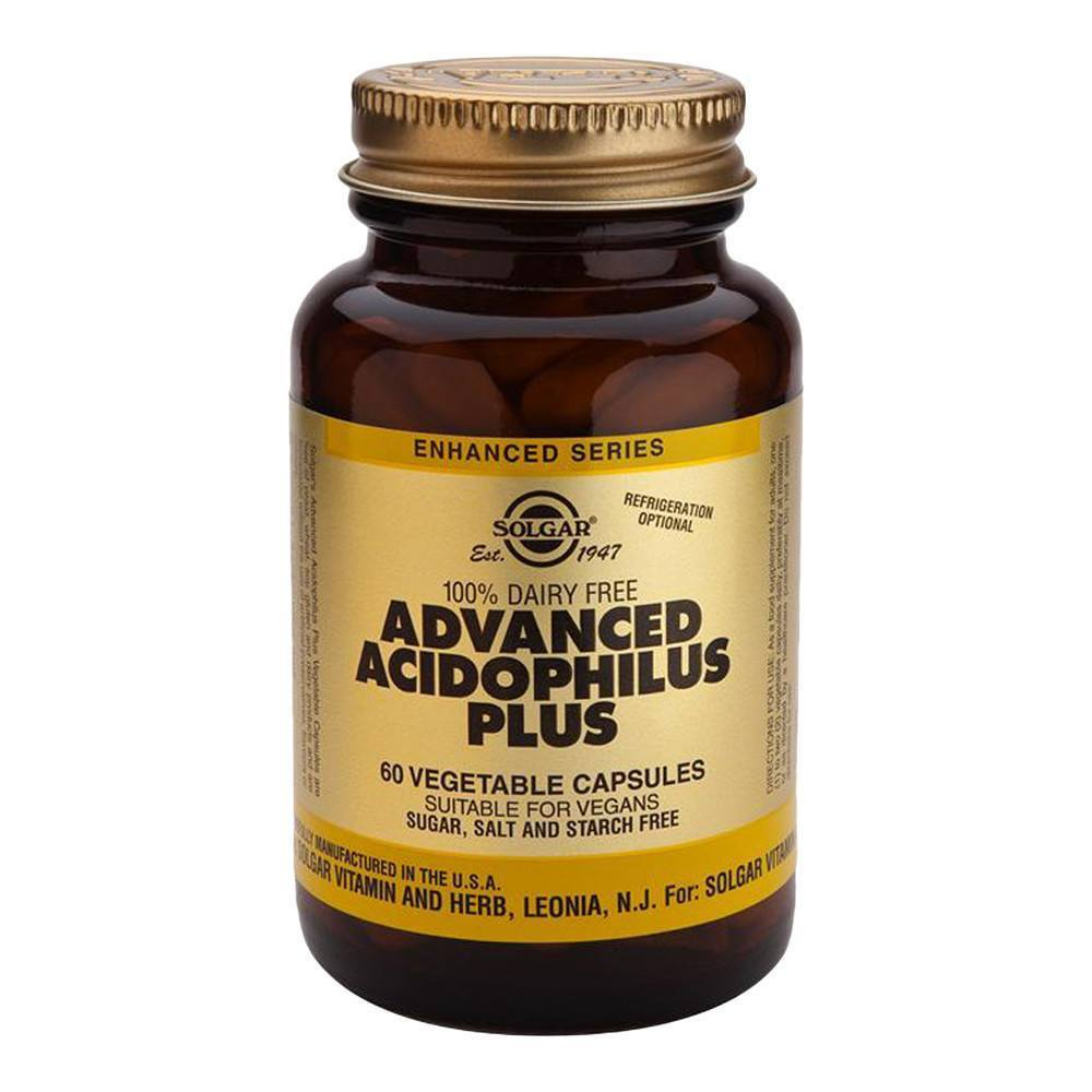 VMS - Solgar Advanced Acidophilus Plus 500 Million 60 Capsules