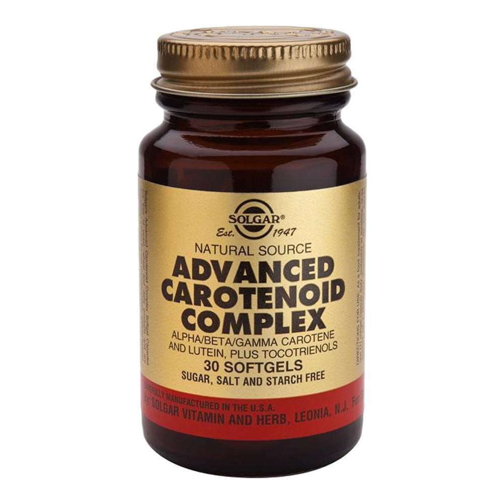 VMS - Solgar Advanced Carotenoid Complex 30 Softgels