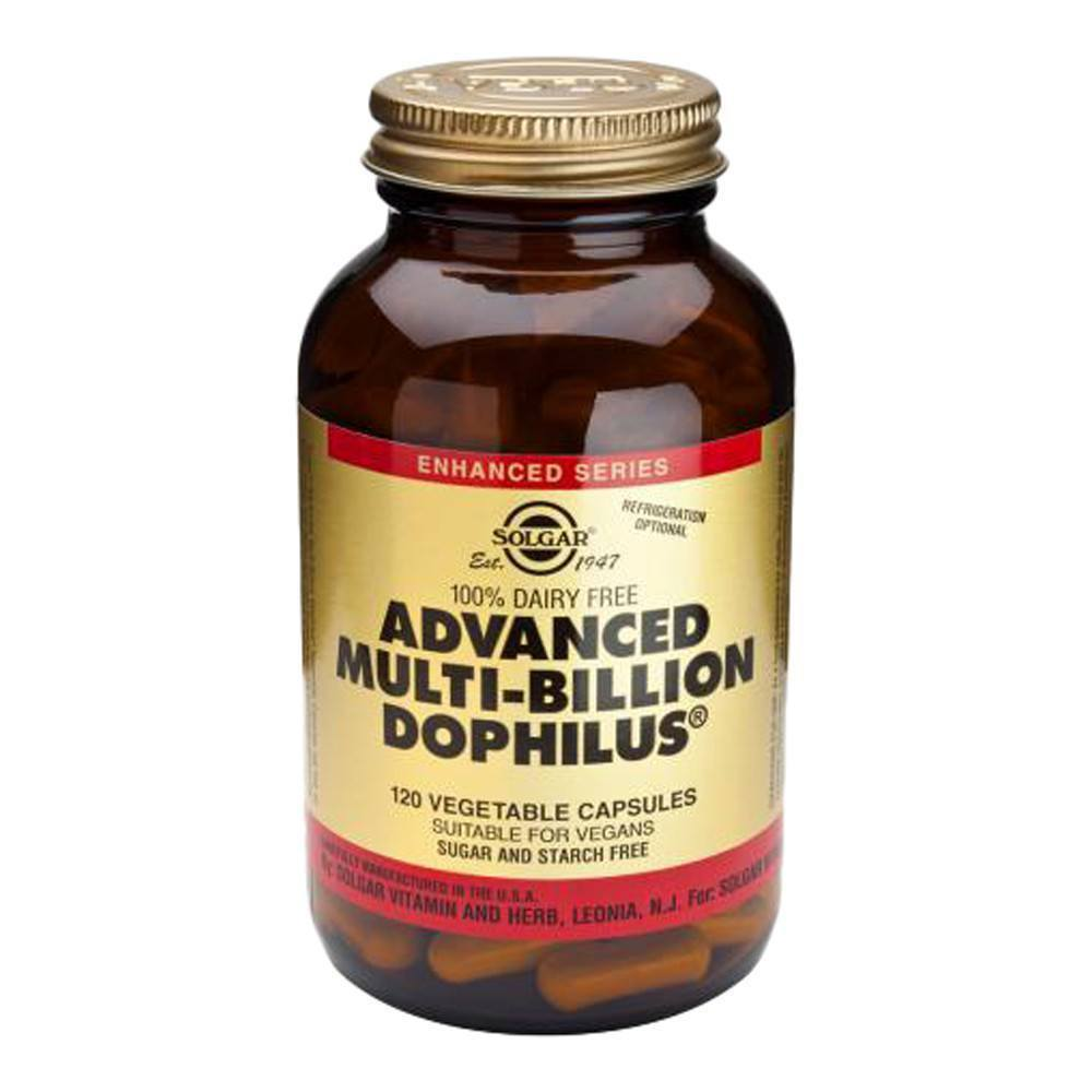 VMS - Solgar Advanced Multi-Billion Dophilus® 5 Billion 120 Capsules