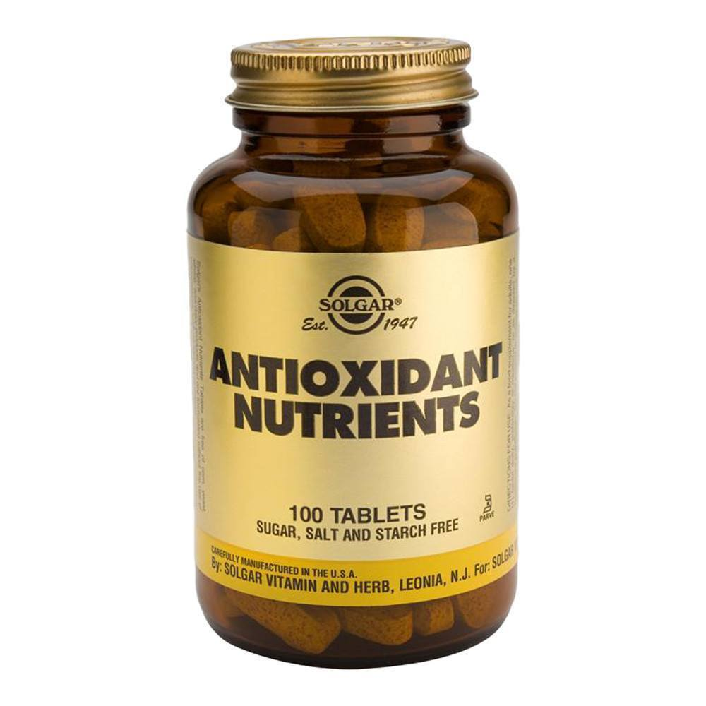 VMS - Solgar Antioxidant Nutrients 100 Tablets