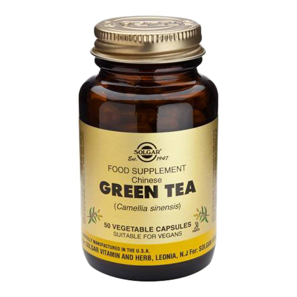 VMS - Solgar Chinese Green Tea 395 Mg 50 Capsules