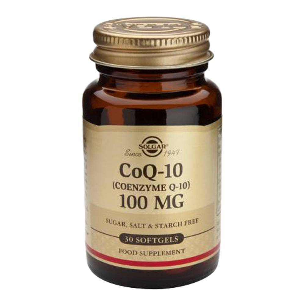 VMS - Solgar Co Enzyme Q10 100 Mg 30 Softgels
