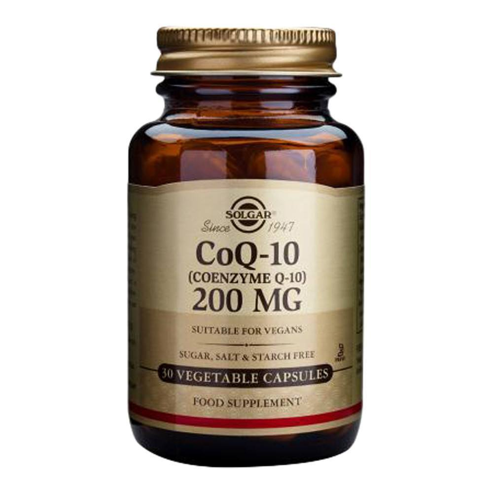 VMS - Solgar Co Enzyme Q10 200 Mg 30 Capsules