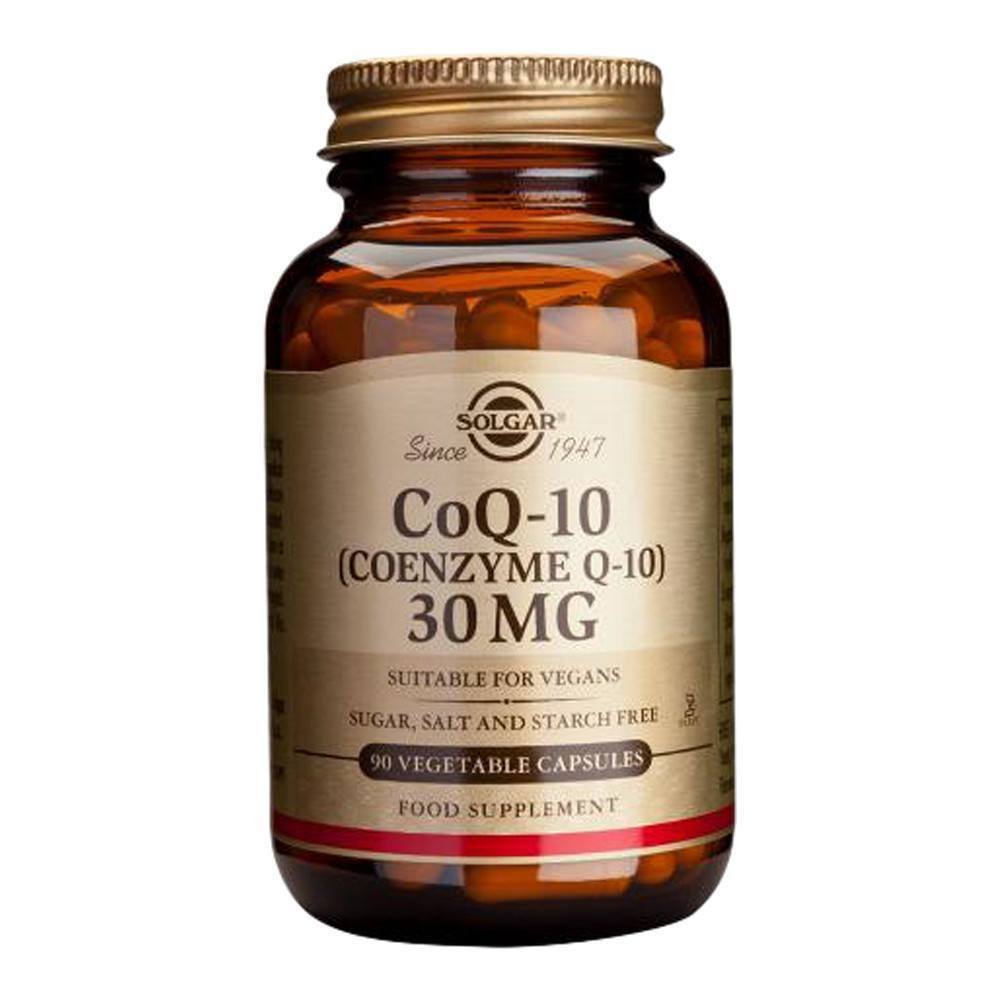 VMS - Solgar Co Enzyme Q10 30 Mg 90 Capsules