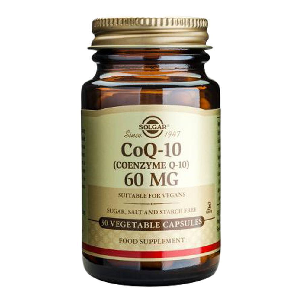 VMS - Solgar Co Enzyme Q10 60 Mg 30 Capsules