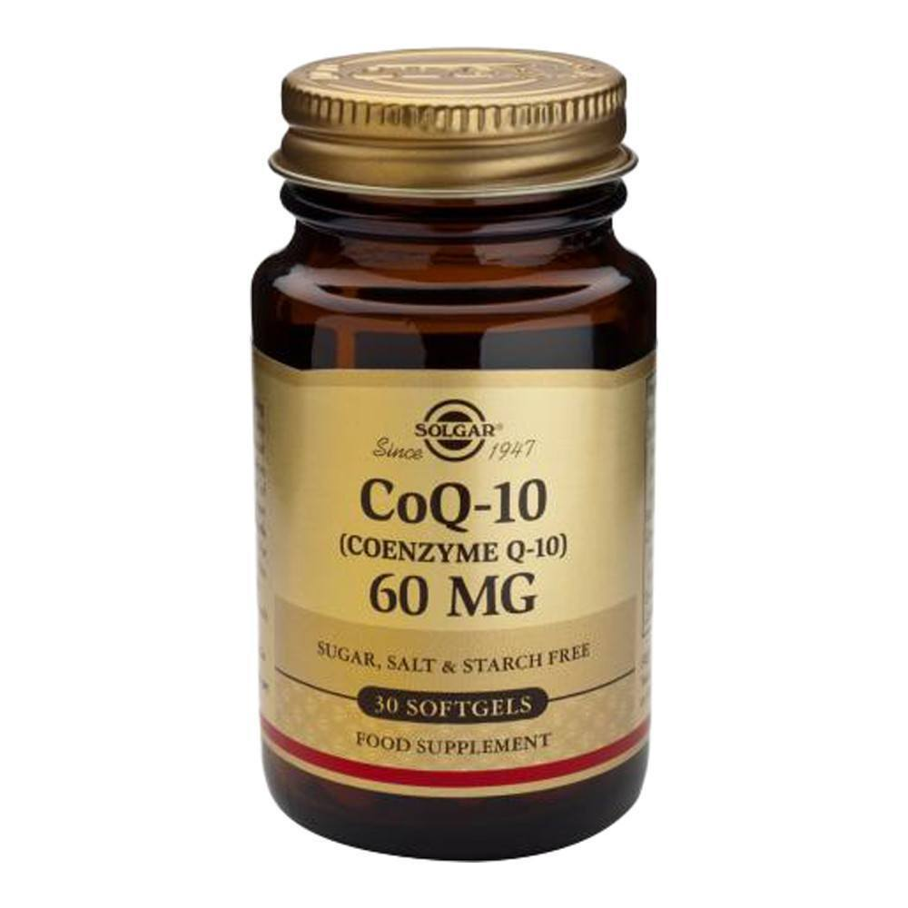 VMS - Solgar Co Enzyme Q10 60 Mg 30 Softgels