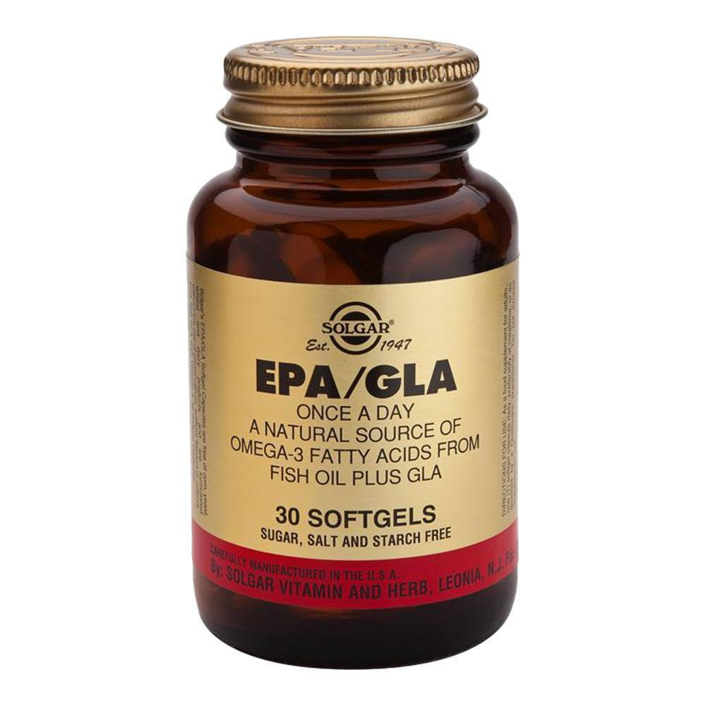 VMS - Solgar EPA 200 Mg DHA 134 Mg And GLA 45 Mg 30 Softgels