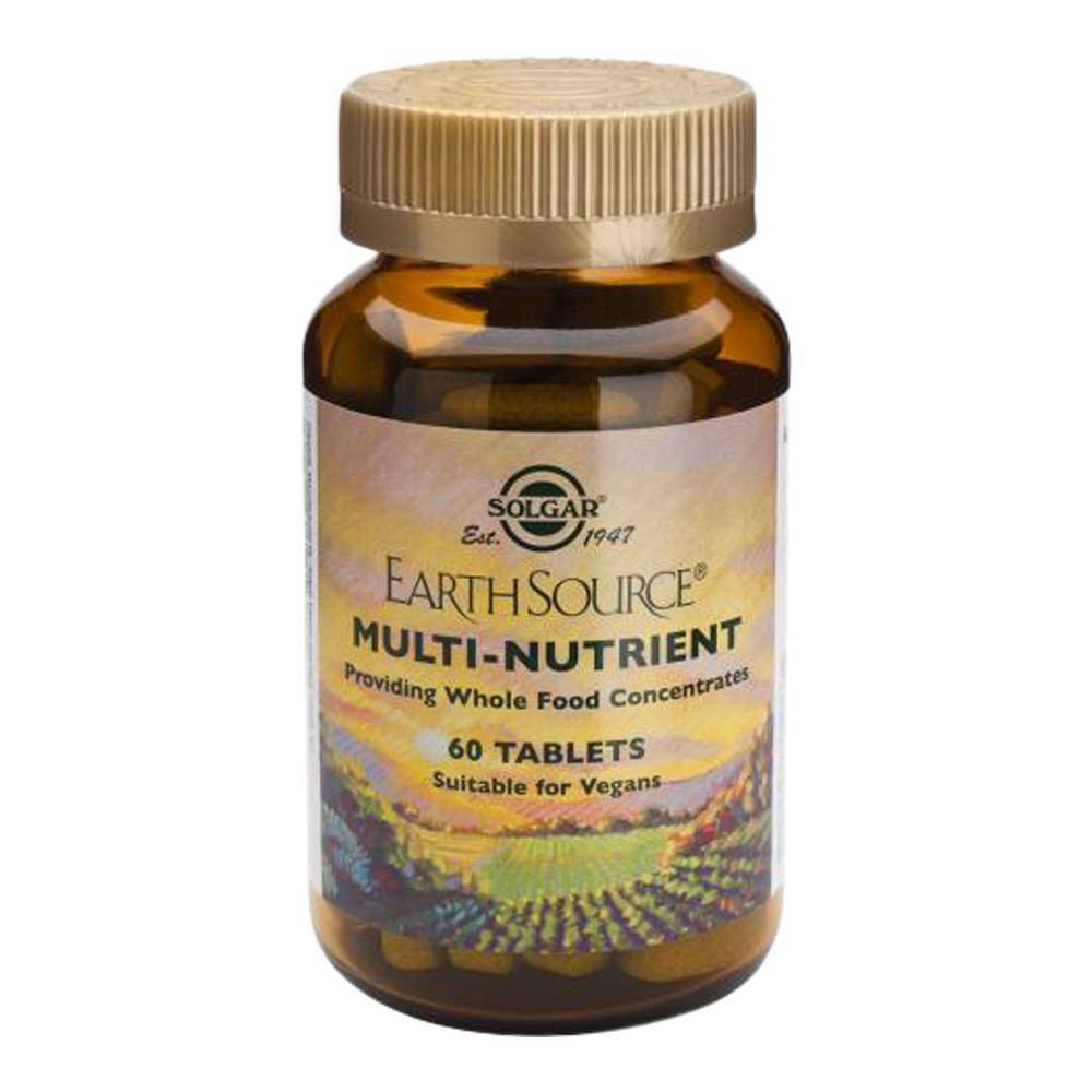 VMS - Solgar Earth Source® Multinutrients 60 Tablets