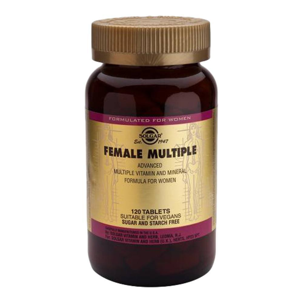 VMS - Solgar Female Multiple 120 Tablets