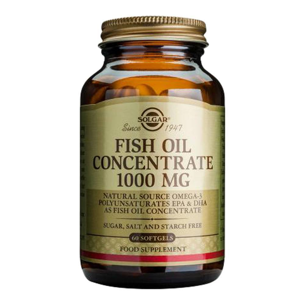 VMS - Solgar Fish Oil Concentrate EPA 160 Mg And DHA 100 Mg 60 Softgels