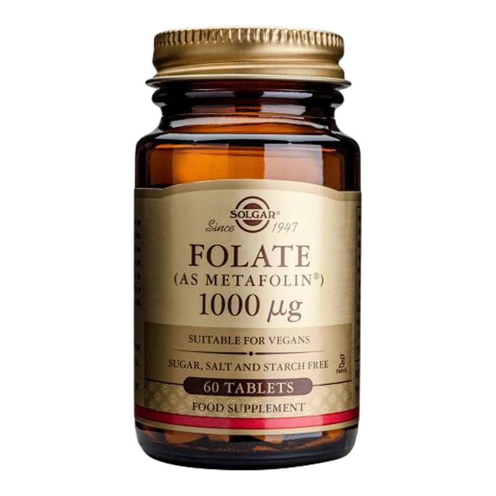 VMS - Solgar Folate 1000 Mcg 60 Tablets