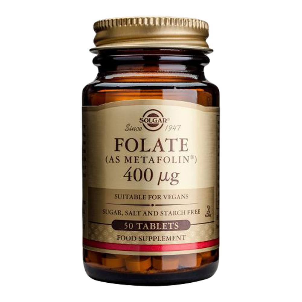 VMS - Solgar Folate 400 Mcg 50 Tablets