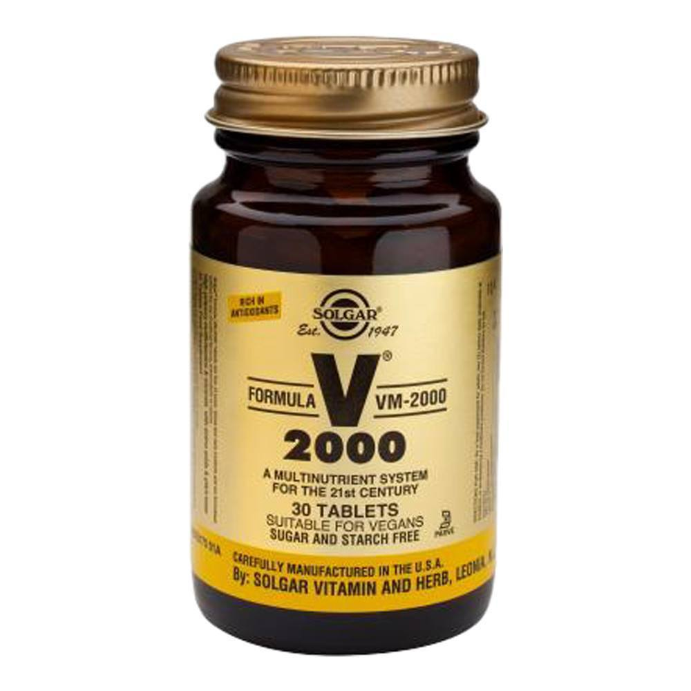 VMS - Solgar Formula VM-2000 Multinutrient 30 Tablets