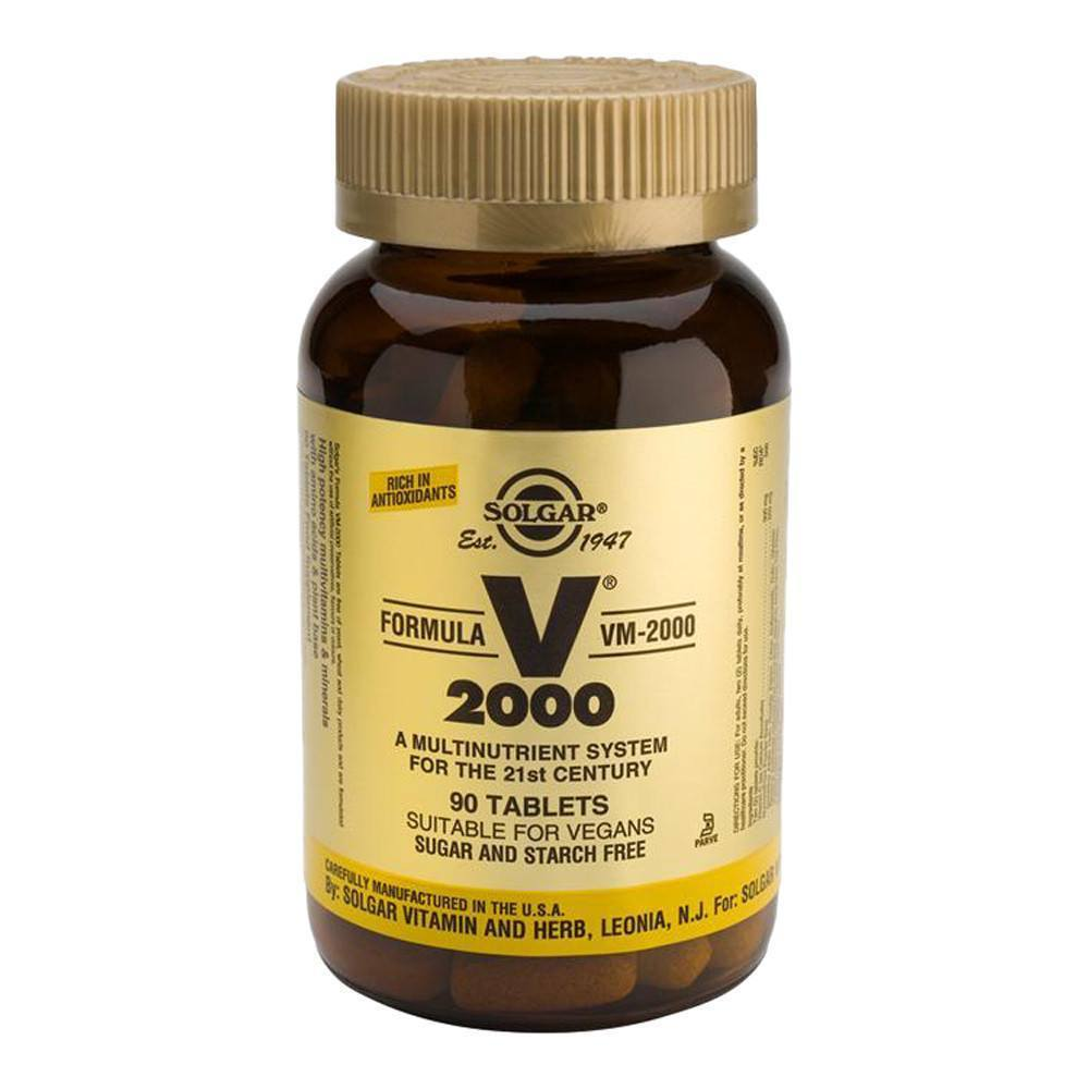 VMS - Solgar Formula VM-2000 Multinutrient 90 Tablets