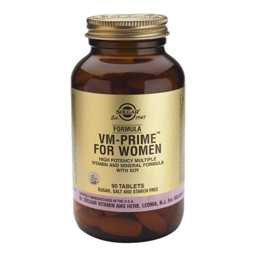 VMS - Solgar Formula VM-Prime Multivitamins For Women 90 Tablets