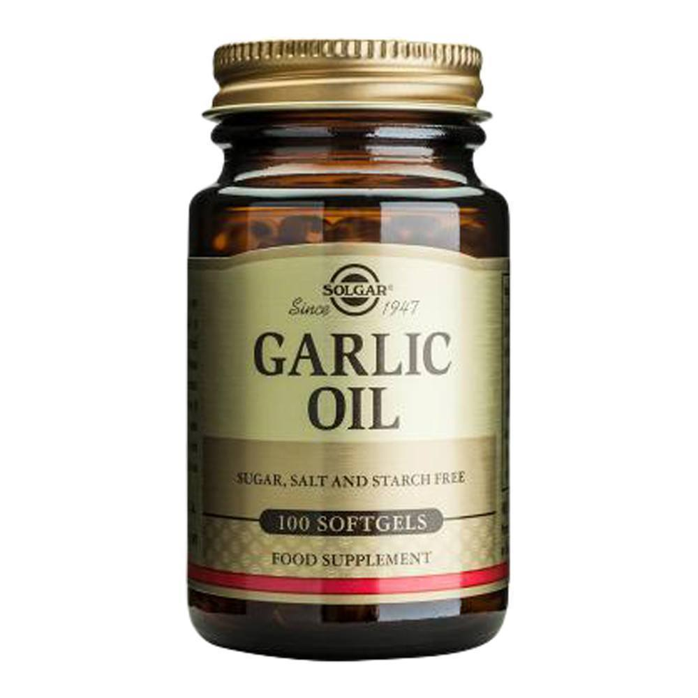 VMS - Solgar Garlic Oil Concentrate 1 Mg 100 Softgels