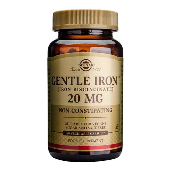 VMS - Solgar Gentle Iron 20 Mg 180 Capsules