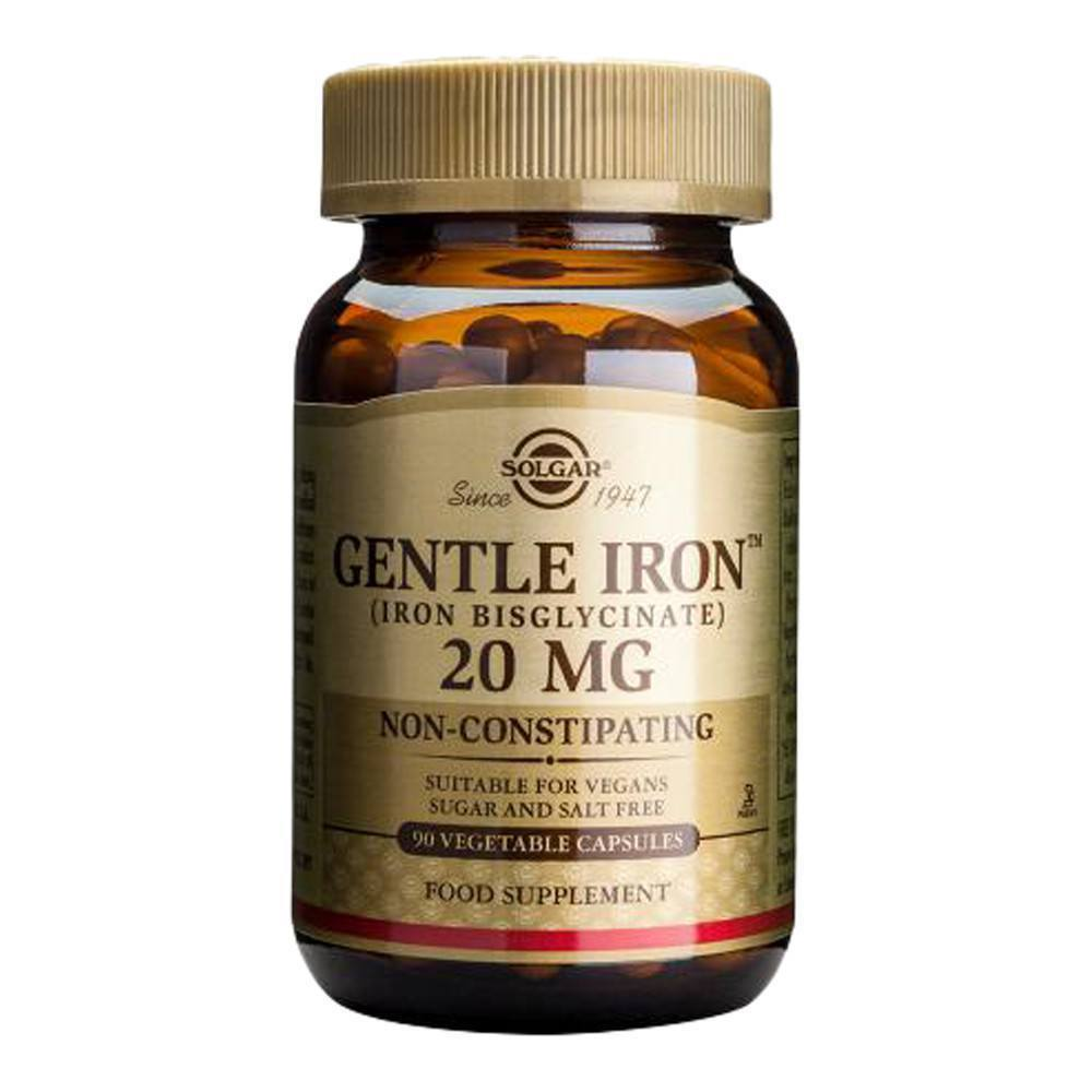 VMS - Solgar Gentle Iron™ 20 Mg 90 Capsules