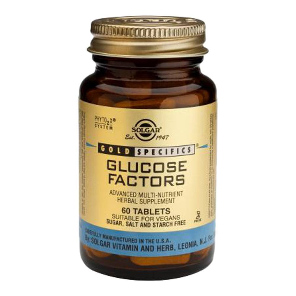 VMS - Solgar Gold Specifics Glucose Factors 60 Tablets